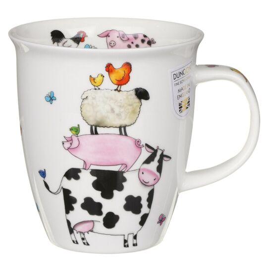 High Climbers Cow Nevis Shape Mug