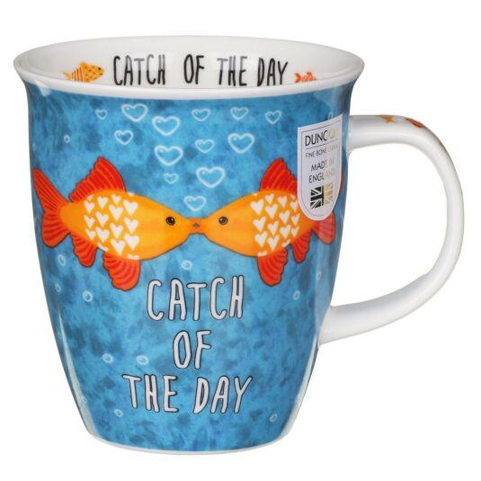 Loved Up Fish Nevis Shape Mug