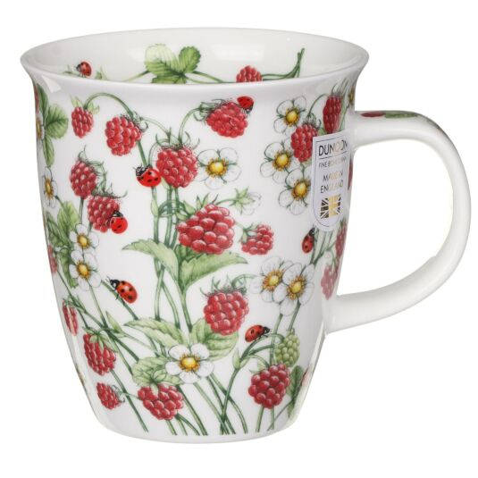 Wild Fruits Raspberry Nevis Shape Mug