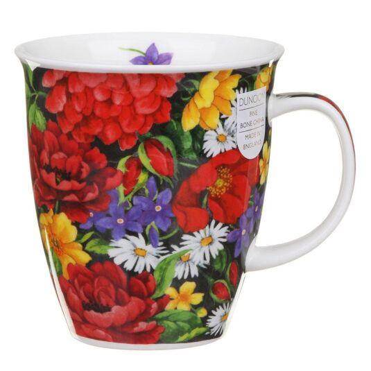 Romany Red Nevis Shape Mug