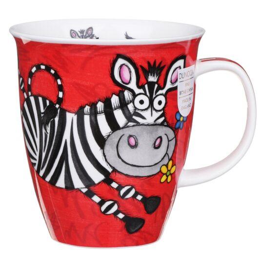 Safari Zebra Nevis Shape Mug