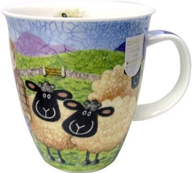 Sheepies Farmer Nevis shape Mug