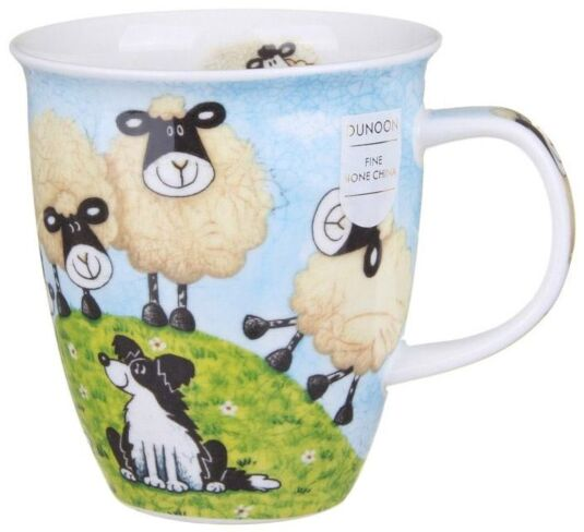 Sheepies Hill Nevis shape Mug