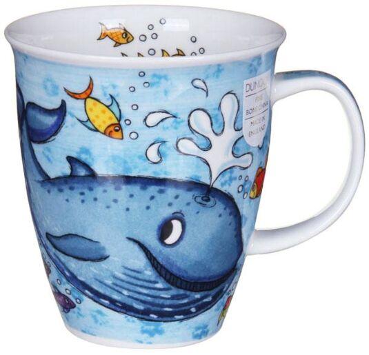 Splash Whale Nevis Shape Mug