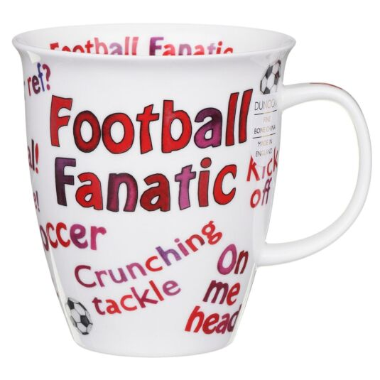Sports Mania Football Nevis Shape Mug