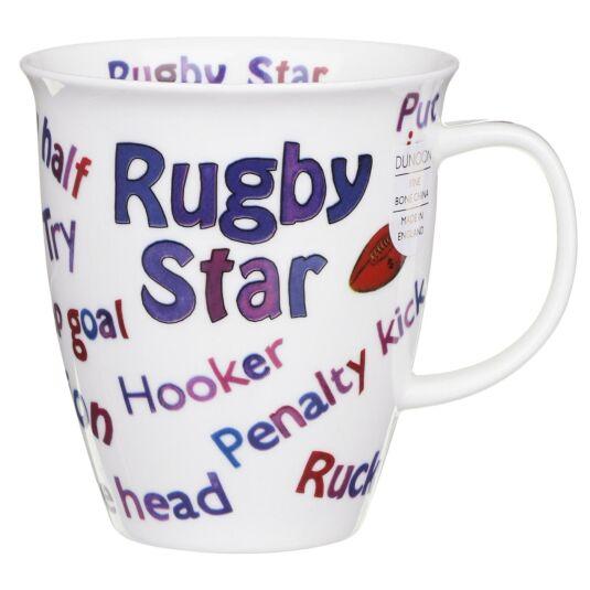 Sports Mania Rugby Nevis Shape Mug