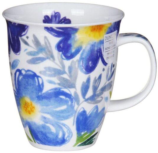 Tuscany Blue Nevis Shape Mug