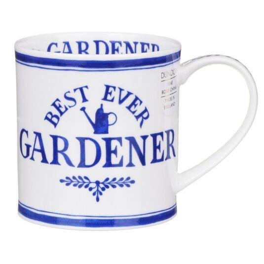 Best Ever Gardener Orkney Shape Mug