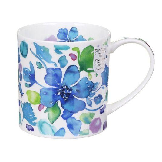 Firenze Blue Orkney Shape Mug