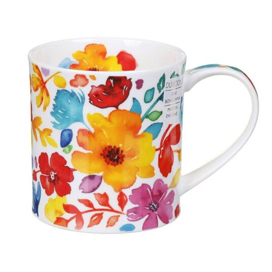 Firenze Yellow Orkney Shape Mug