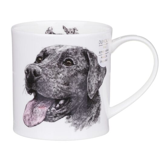 H. Longmuir Dog Collection Labrador Orkney Shape Mug