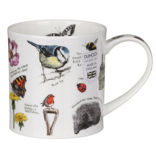 Country Notebook Garden Orkney Shape Mug