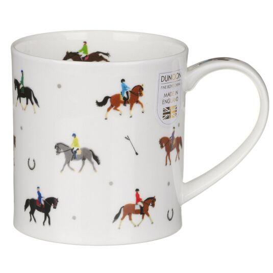 Sport Stars Equestrian Orkney Shape Mug