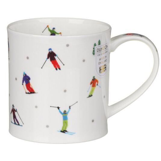Sport Stars Skiing Orkney Shape Mug
