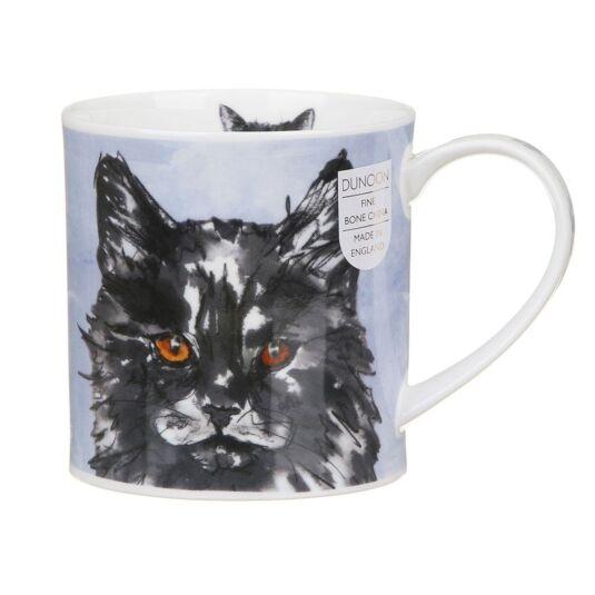 Pawtraits Black Orkney Shape Mug