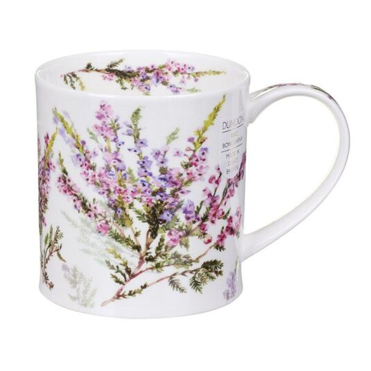 Scottish Heather Orkney Shape Mug