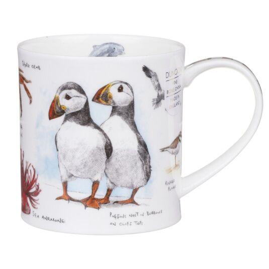 Seaside Notebook Puffin Orkney Shape Mug