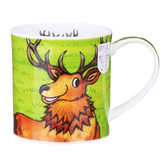 Stag Orkney Shape Mug