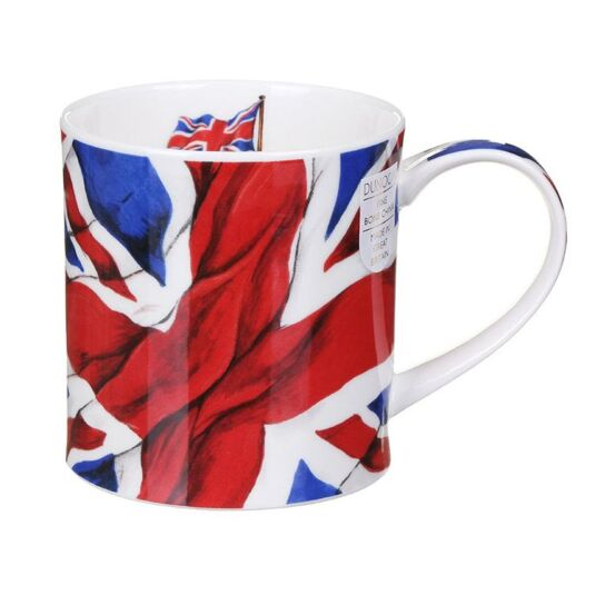 Union Flag Orkney Shape Mug