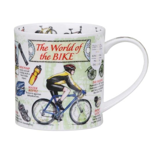 World Of The Bike Orkney Shape Mug