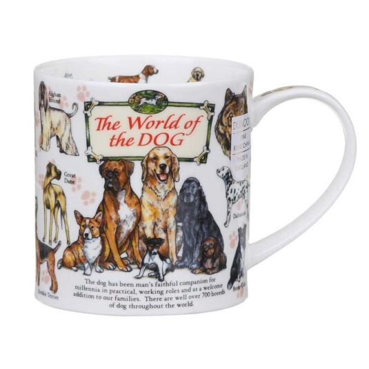 World Of The Dog Orkney Shape Mug