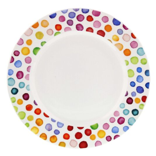 Hot Spots 22cm Boxed Cake Plate