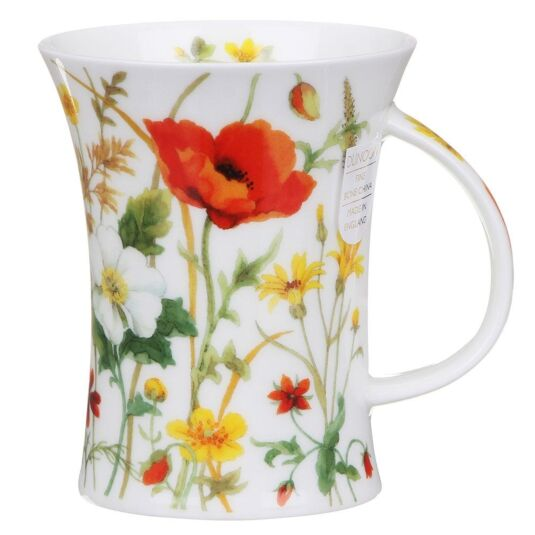 Meadow Lane Red Richmond Shape Mug