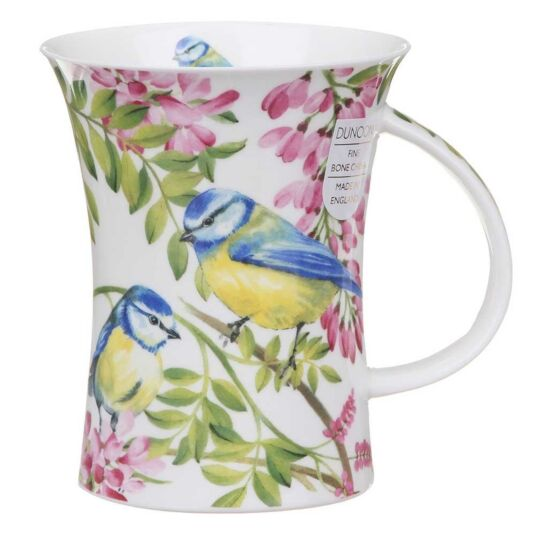 Birdsong Bluetit Richmond Shape Mug