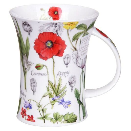 Floral Diary Poppy Richmond Shape Mug