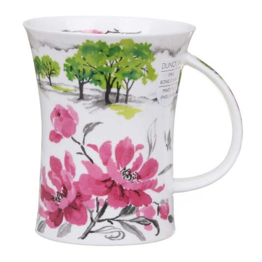 Oriental Garden Peony Richmond Shape Mug