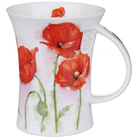 Rhapsody Poppies Richmond shape Mug
