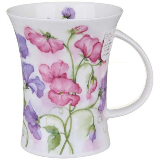 Rhapsody Sweet Peas Richmond shape Mug