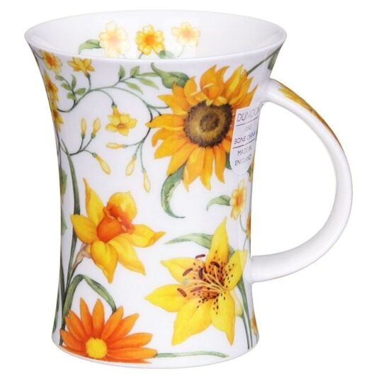 Sissinghurst Yellow Richmond Shape Mug