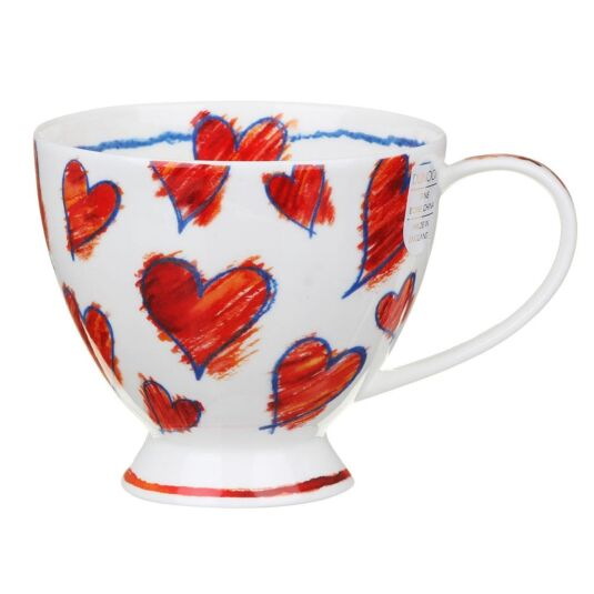 Amora Red Skye Teacup Mug