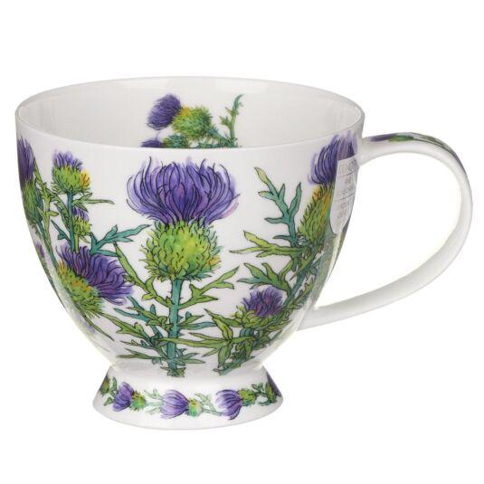 Scottish Thistle Skye Shape Mug