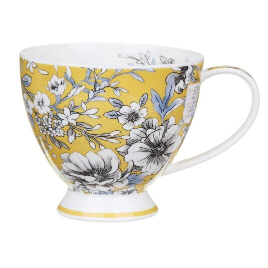 Umbria Yellow Skye Teacup Mug