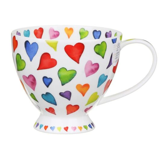 Warm Hearts Skye Teacup Mug