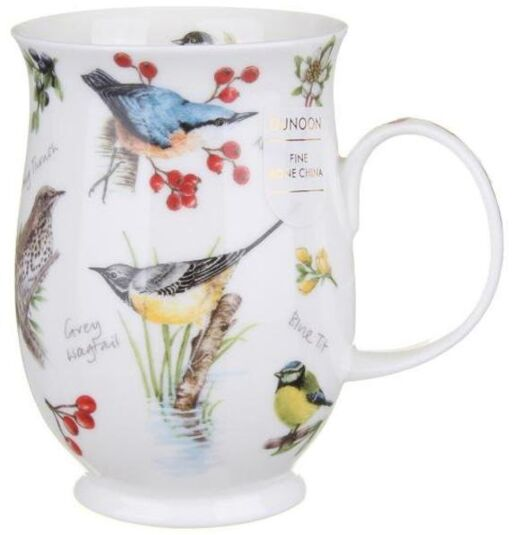 Dawn Song Nuthatch Suffolk shape Mug