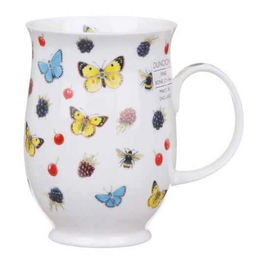 Evesham Blackberry Suffolk Shape Mug