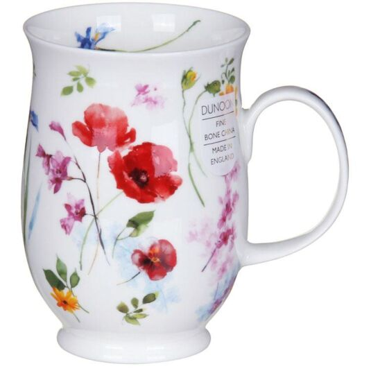 Fleurie Poppy Suffolk Shape Mug