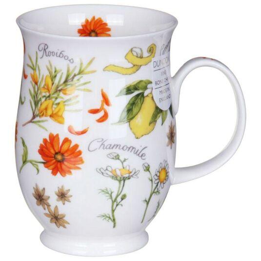 Herbal Teas Orange Suffolk Shape Mug