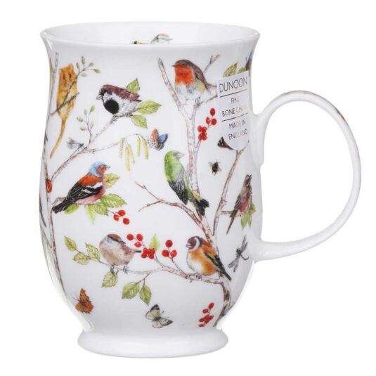 Secret Wood Robin Suffolk Shape Mug