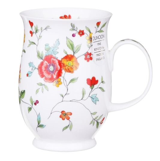 Serenity Red Suffolk Shape Mug