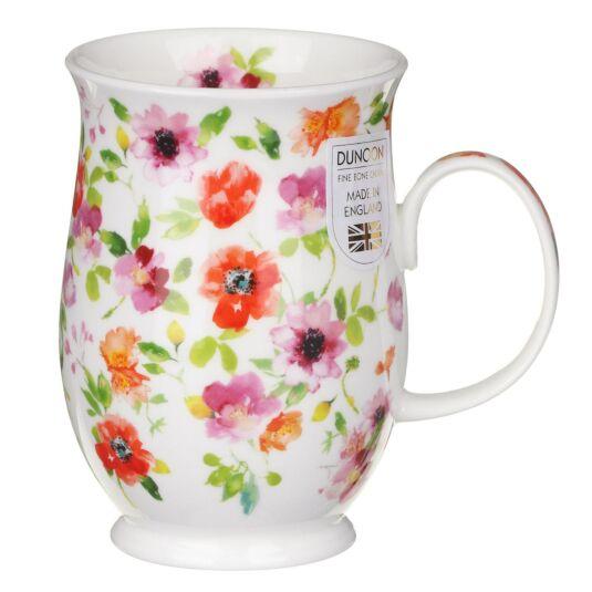Fleurs Red Suffolk Shape Mug