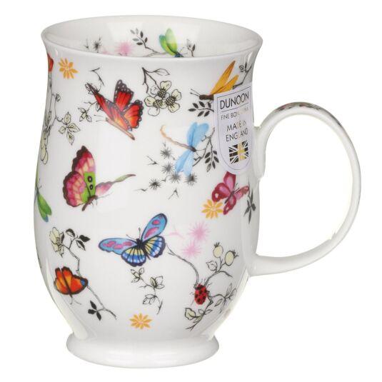 Paradise Butterflies Suffolk Shape Mug