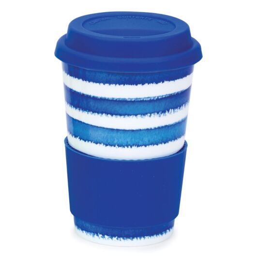 Hoopla! Blue Travel Mug