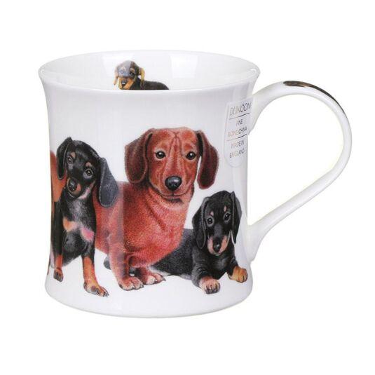 Designer Dogs Dachshunds Wessex Shape Mug