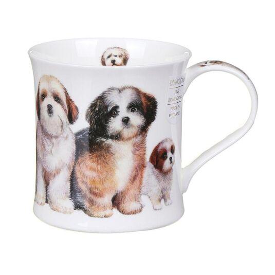 Designer Dogs Shih Tzus Wessex Shape Mug