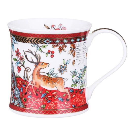 Eden Red Wessex Shape Mug