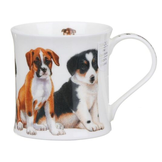 Puppies Boxer Wessex Shape Mug
